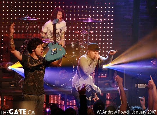 Fall Out Boy at MTV Live