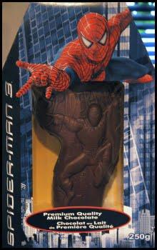Spider-Man chocolate