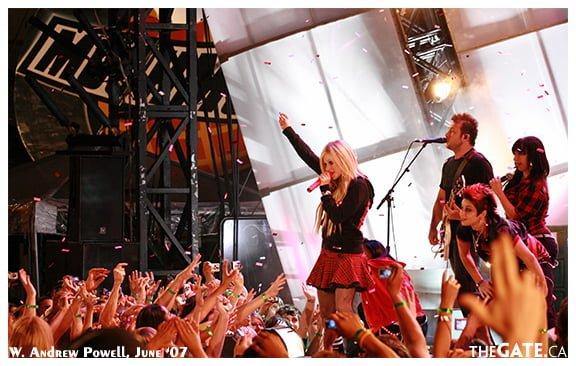MMVAs 2007 - Avril Lavigne