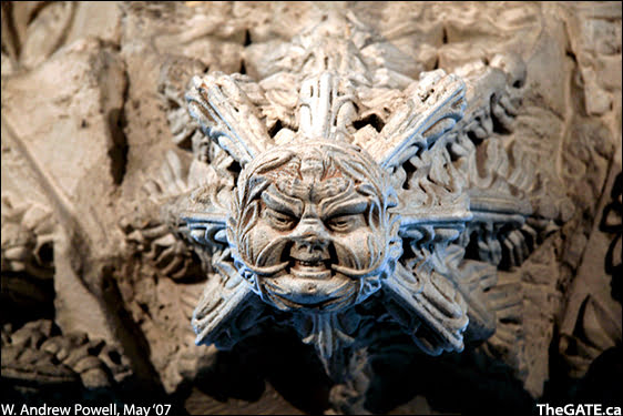 Rosslyn Chapel - The Green Man