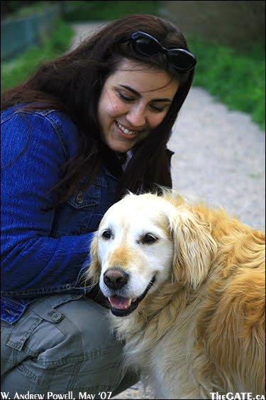 Aisha with Sally