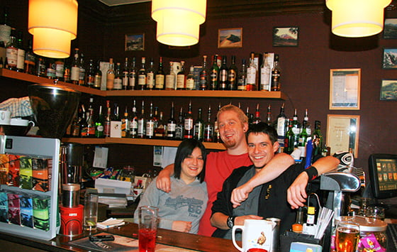 Kate, Lee and Josifek