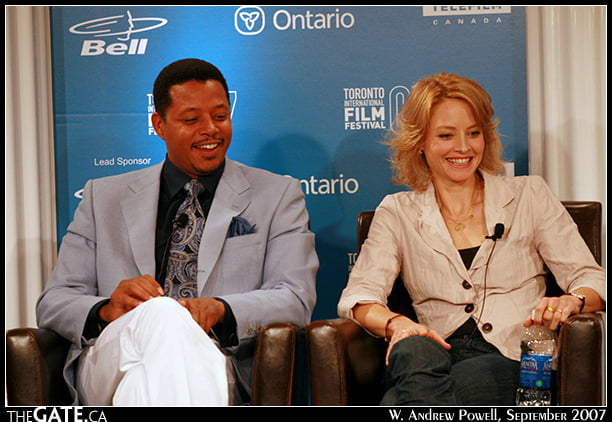 The Brave One - Terrence Howard & Jodie Foster