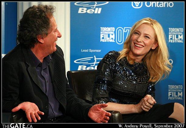 Geoffrey Rush & Cate Blanchett